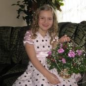 Алінка Ушкевич 7 років