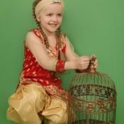 Вероніка Царик, 7 років