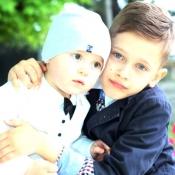 Валентин та Владислав Левковський, 1 та 9 років