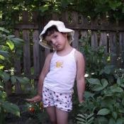 Настя Трісла,  7 років
