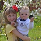 Солярчик Діана та Назарій, 9 років і 11 місяців