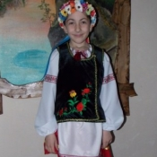 Даша Козак,9 років