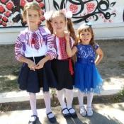 Учениці 1-Є класу ЗОШ № 23 м Вінниці – читачки та палкі шанувальниці журналу «Куля»