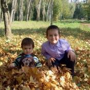 Владик і Сашко Олексини