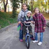 Катя, Коля та Настя Кріль