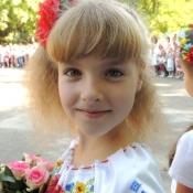 Іринка Савшак,7 років