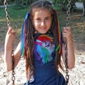 Злата Юзвенко,  8 років