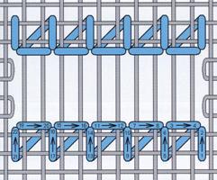 """Рис. 69. Схема мережки """"подвійний прутик"""""""